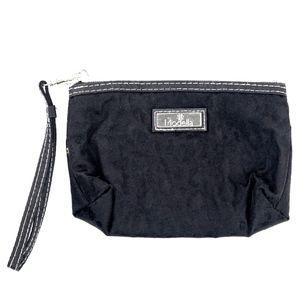 Modella Clutch Cosmetic Black Bag
